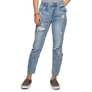Almost Famous Denim Mom Jeans